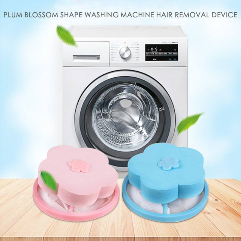 Floating Mesh Filter Bag Washing Machine Laundry Pouch Lint Hair Removal Device