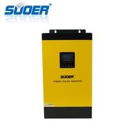 Suoer【 Hybrid Inverter 】 48V 230V 5KW hybrid solar power inverter off grid built in MPPT charge controller(MPS 5K 48