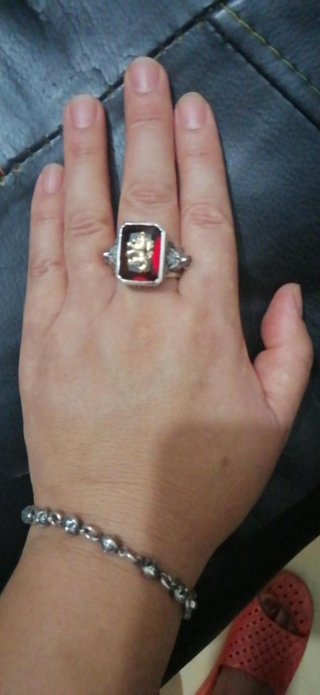 S925 čisto srebro Rastavibrations muški lav dragulj čisto srebro - Modni nakit - Foto 5