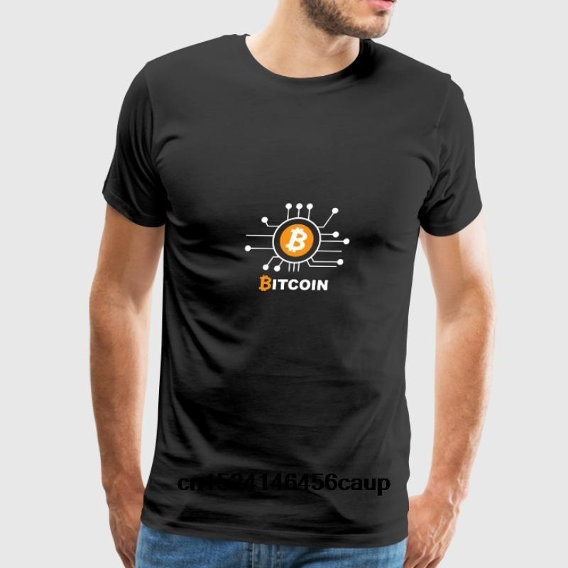 100% Cotton O-neck Custom Printed Men T shirt Bitcoin(1) Women T-Shirt