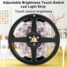 USB LED Strip Lamp Waterproof Ribbon Light Mirror Dimmable Wall Flexible Tape DC 5V Bedroom Decorations