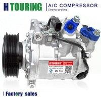 For 6SEU14C AC COMPRESSOR Audi A6 C6 4F 2.4 2.8 3.0 3.2 4E0260805AC 4E0260805AG 4E0260805G 4F0260805D 4F0260805F 4F0260805K Air-conditioning Installation     -