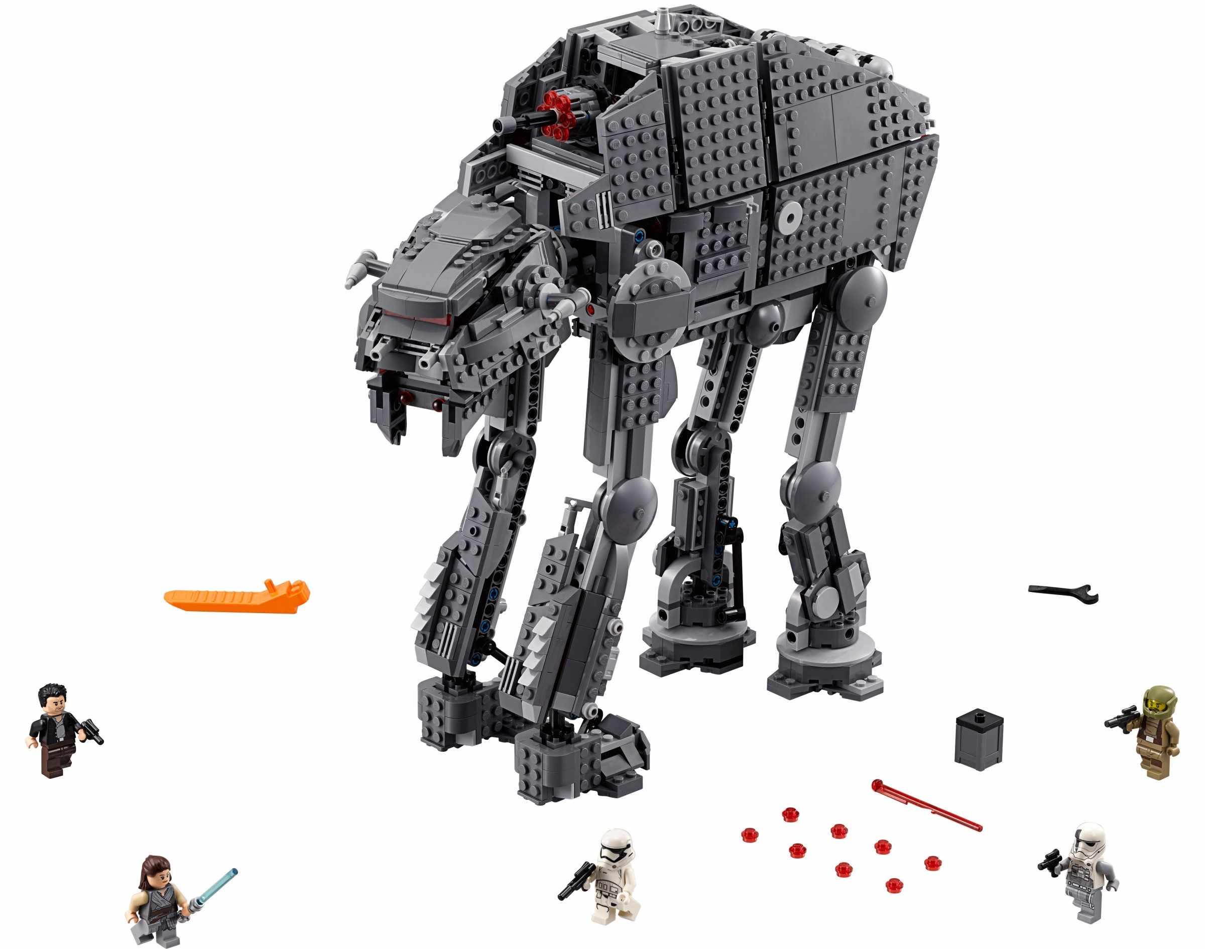 05130 Совместимые модели lepining Star Wars Heavy Assault Walker, строительные блоки, Подарочные игрушки для детей