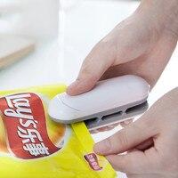 Mini Abdichtung Maschine Snacks Verpackung Vakuum Kunststoff Tasche Hand Presse Wärme Abdichtung Maschine Schließen Capper
