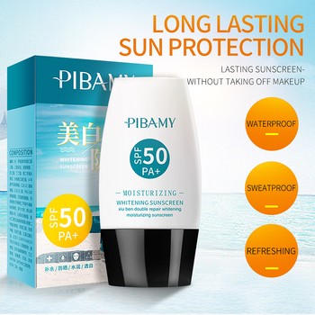 SPF50+ Persistent Sunscreen and moisturizing Resist sunlight and Waterproof soften sunlight Sunblock cream whitening suncream часы sunlight sunlight mp002xw1903l