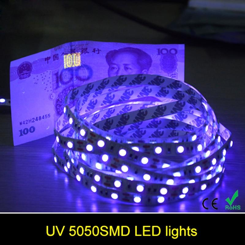 5M 5050 SMD Led Strip Light Tape High Quality;60LEDs/m;White/Warm White/Red/Green/Yellow/Blue/Pink/RGB/UV/RGBW/RGBWW;DC12V