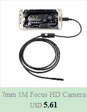 Hb3d401dd3e034483ac45ed47a37a8666b 5.5mm Endoscope Camera 1/1.5/2/3.5/5M  2 in 1 Micro USB Mini Camcorders Waterproof 6 LED Borescope Inspection Camera For Android