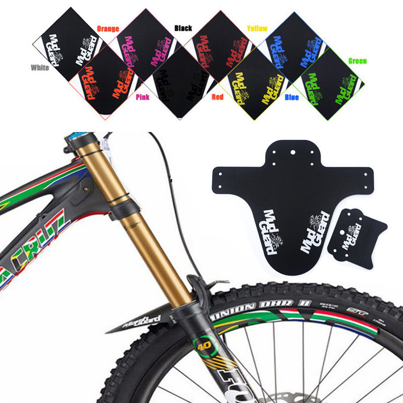 Steady New 1 Pcs Road Bike Fender Mountain Bicycle Fender Front Rear Mudguard Road Cycling Mountain Bike Fender Cycling Accessories Famous For High Quality Raw Materials, Full Range Of Specifications And Sizes, And Great Variety Of Designs And Colors