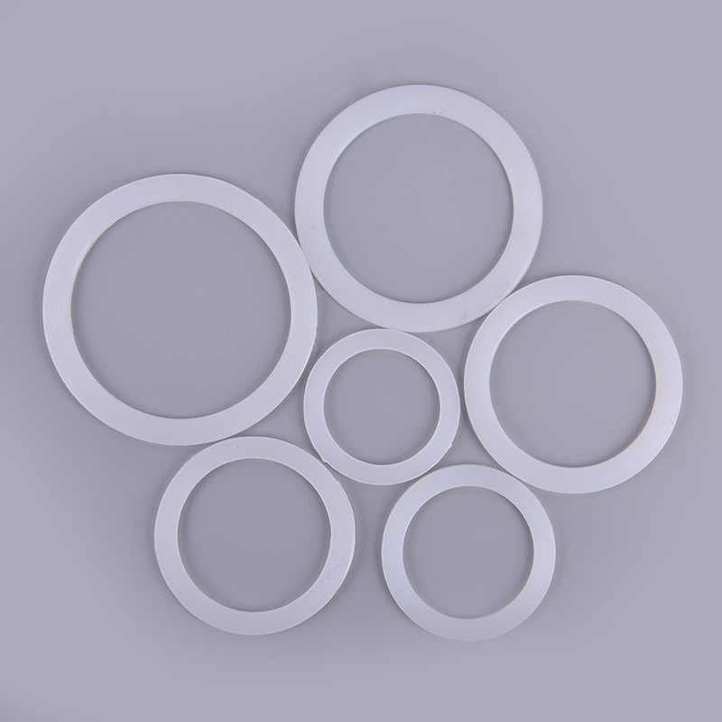 2 Pcs/lot Silicone Seal Ring Flexible Washer Gasket Ring Kitchen Coffee Parts Makers Accessories