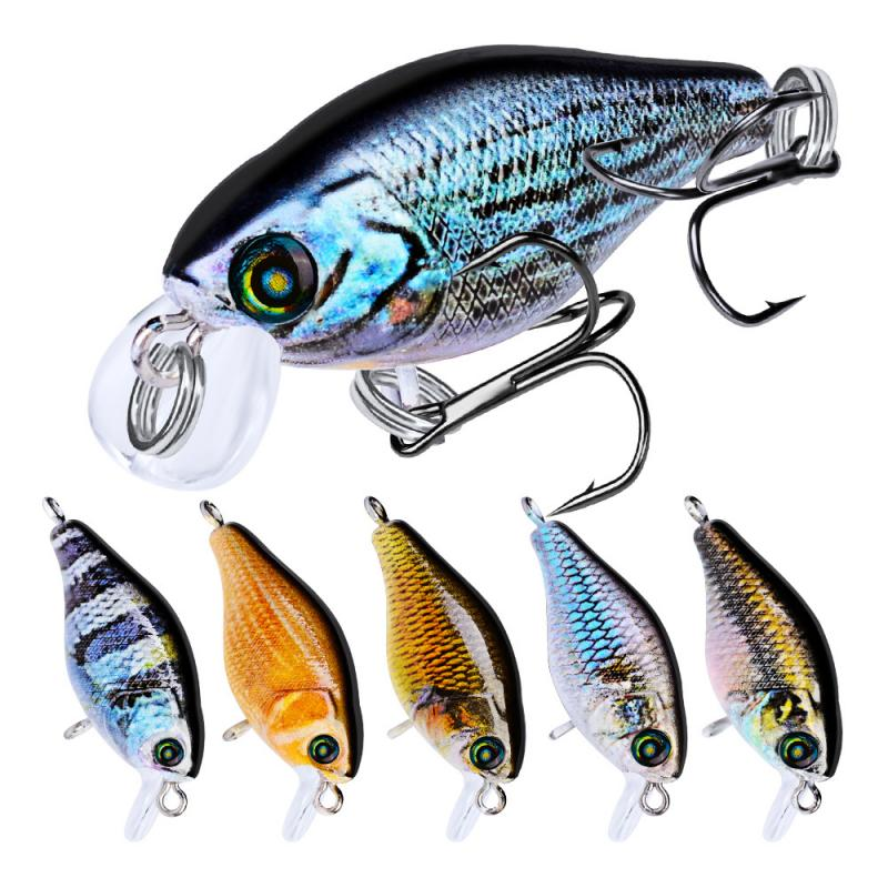 Floating Fishing Lure Plastic Colorful Bionic Fishing Lures Artificial Bait