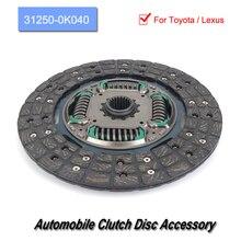 цена на 31250-0K040 Car Automobile Clutch Disc Accessory Part Fits For Toyota / Lexus