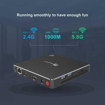 256GB Beelink Gemini T34 Mini PC N3450 Quad Core 4K HTPC Fan Wins 10 8GB 128GB support M.2 SSD BT4.0 1000M LAN NUC mini Computer