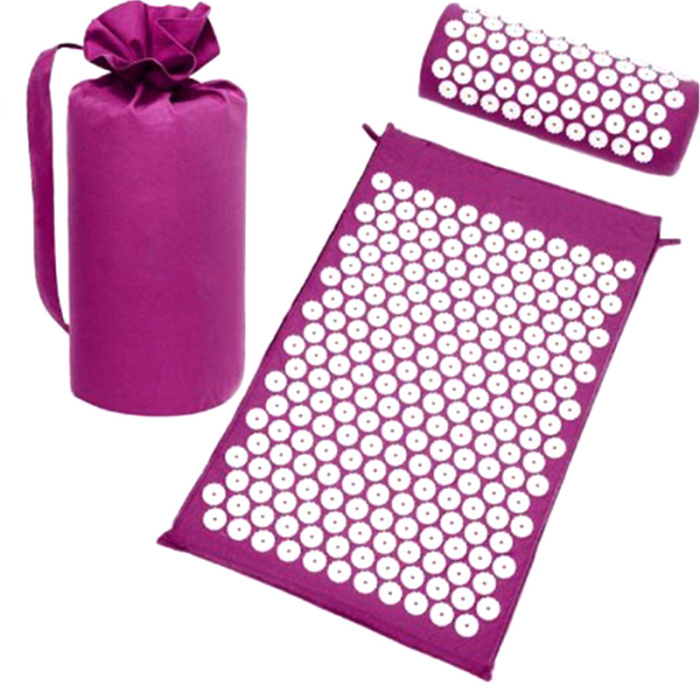 SEC88 Acupressure Massage Mat with Pillow set for Stress Pain and Tension Relief 17