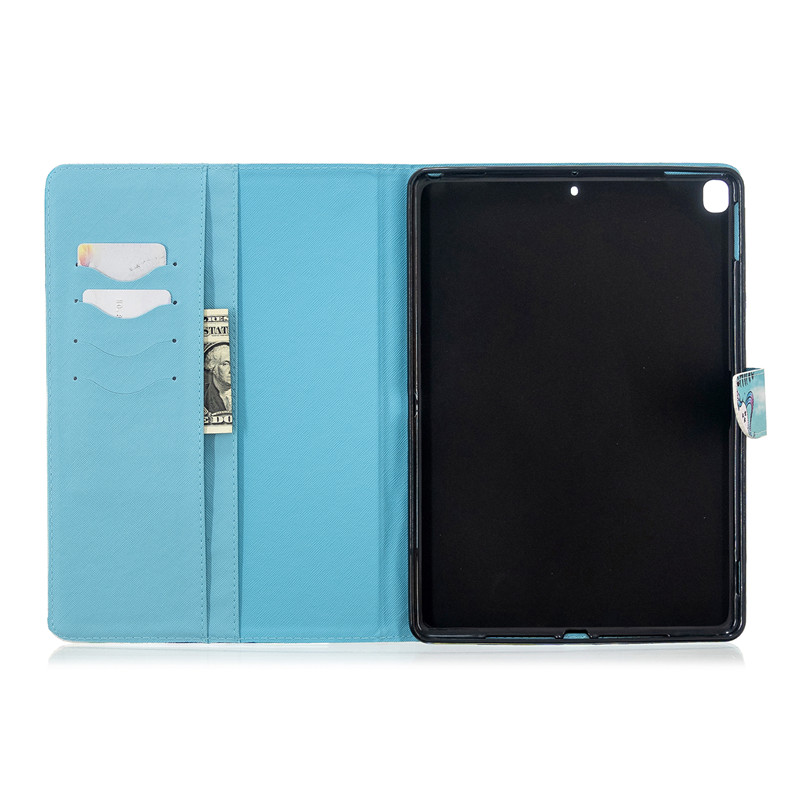 Case 2017 Unicorn Cat iPad 3 2019 5 for Pro Apple Magnetic For 10 Tablet Air Cover Cute