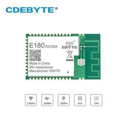 E180-ZG120A efr32 soc zigbee 3.0 módulo transceptor de rádio 2.4 ghz efr32mg1b pa amplificador 20dbm ligação toque rádio
