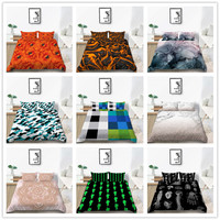 3D Print paintings Bedding set Twin Full Queen Size 2/3pcs Bedding Supplies for kids boys for Home Textile of Bed Set Cover
