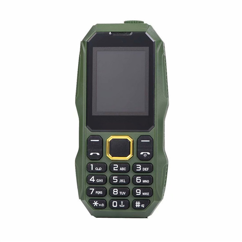 No Camera Cheap Small Mini Dual Sim Mobile Phone Shockproof Whatsapp Strong Torch Bluetooth Support Russian Keyboard