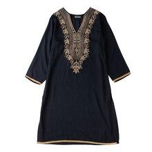 Индийское платье для женщин, Этнические блузки с вышивкой, Vestido, Индиано, одежда в индийском стиле, женские костюмы, Пакистанская Курта, платья черного цвета