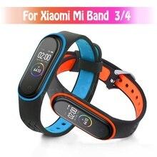 Для Xiaomi mi Band 4 спортивные часы на ремешке силиконовый браслет для mi Band 3/4 браслет Smart mi band 4 NFC ремешок Карлос Корреа аксессуары