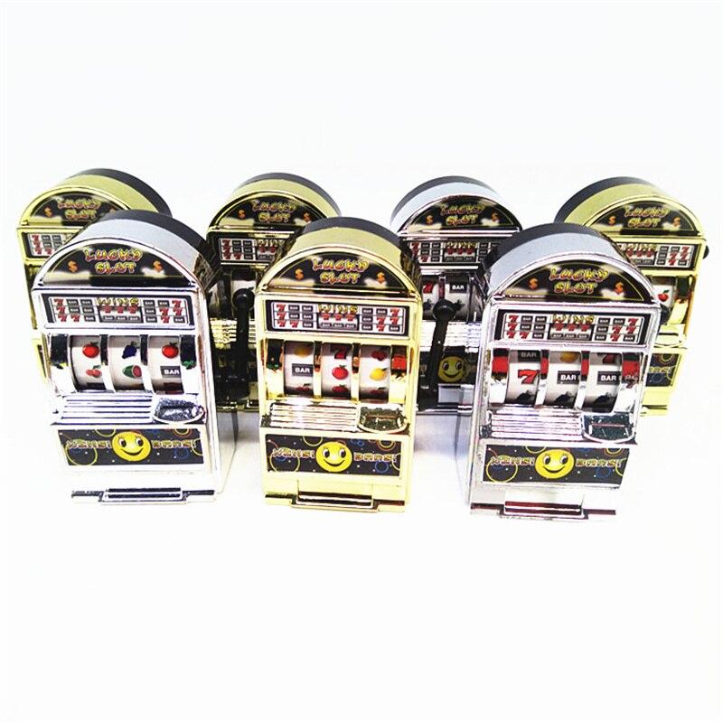Minimáquina de fruta de la suerte para niños, juego educativo, regalo de cumpleaños, juegos de monedas de entretenimiento
