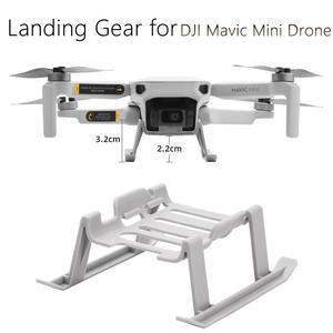Image 1 - 着陸ギアキット dji Mavic ミニドローン高さエクステンダー脚長足プロテクタースタンドジンバルガードアクセサリー