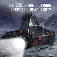 Светодиодный налобный фонарь с приближением головной светильник