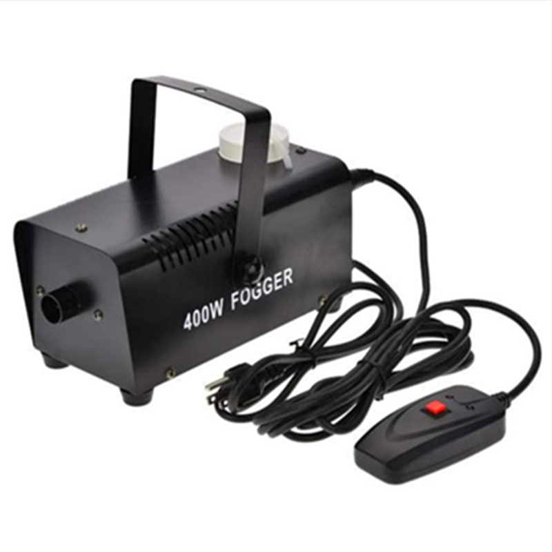 400W Fog Machine Smoke Ejector Portable Christmas And Party Smoke Machine With Wire Control For KTV Holidays,Wedding 400W Fogger