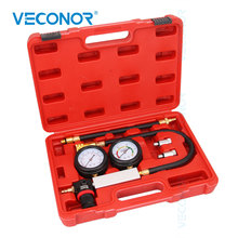 TU 21 Cylinder Leak Detector Inspection Tool Cylinder Leakdown Engine Compression Tester Petrol Engine Pressure Test Gauges