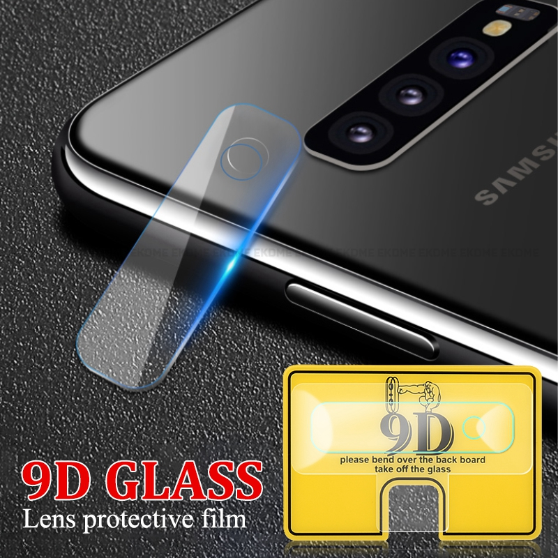 9D Camera Screen Protectors For Samsung Galaxy S10 Plus S10E J4 J6 J8 2018 Anti Fall Camera Flim For Samsung Galaxy Note 10 Pro