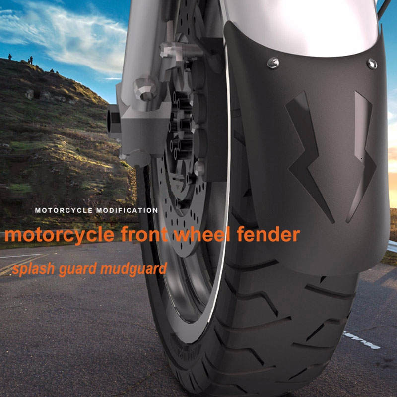 ABS Universal Motorcycle Front Wheel Extension Fender Rear Front Fender Protector Mud Guard Cover For Motorbike