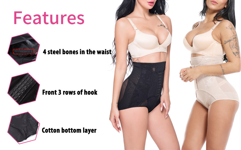 Faja Women Waist Trainer Body Shaper Butt Lifter High Waist Control Panties Shapewear Tummy Shaper Girdle Slimming Belt