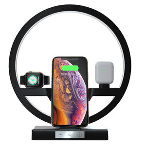 Wireless-Charger-Dock Apple Watch QI iPhone 11 1-2-3-4-5-Airpods-Charger-Holder Fast