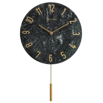 Nordic Wall Clocks Home Decor Creative Modern Luxury Ceramic Home  Pendulum Clock Watch Wall Living Room Reloj Cocina Gift SC332