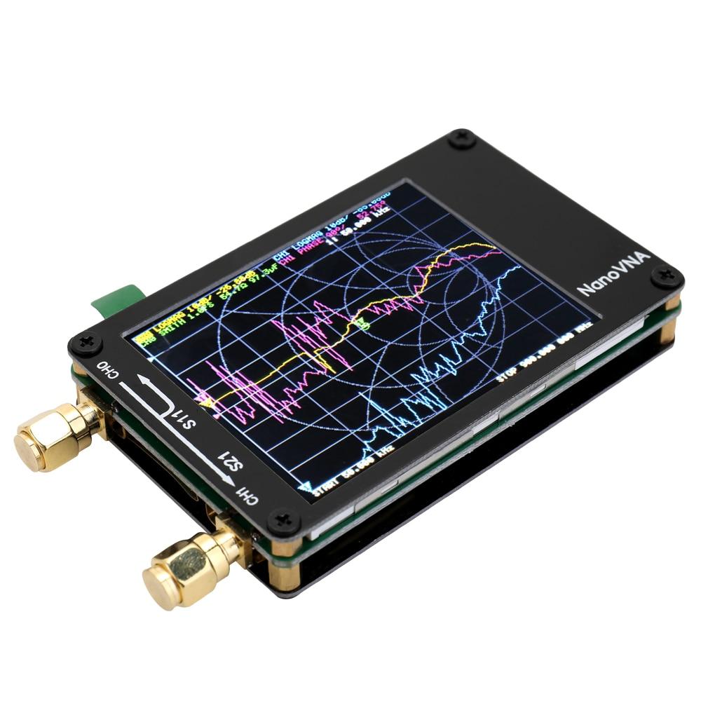 Portable Handheld Vector Network Analyzer Digital Display Touching Screen Shortwave MF HF VHF UHF Antenna Analyzer Standing Wave