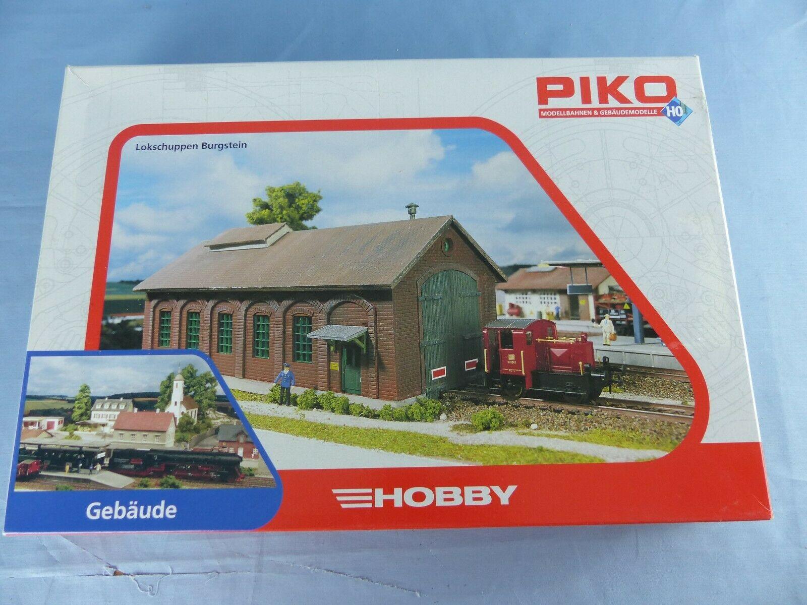 PIKO Hobby Burgstein Locomotive Shed Kit HO Gauge 61823