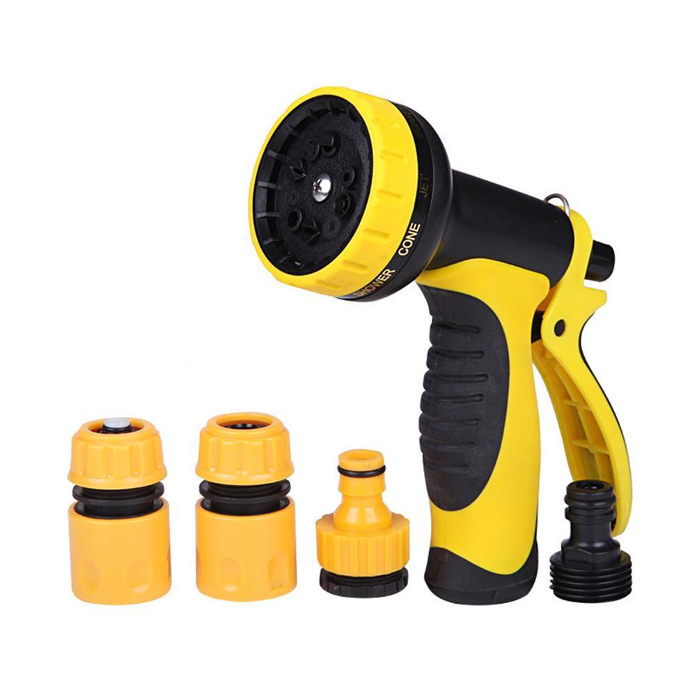 Garten Schlauch Düse 10 Einstellbare Spray Muster, Schlauch Spray Düse, Geeignet Für Bewässerung Ausrüstung, Reinigung, auto Waschen