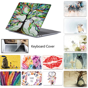 Laptop Case For MacBook Touch ID Air 13 A1932 Air Pro Retina 11 12 13 15 13.3 Touch Bar New A2159 Laptop bag +Keyboard Cover(China)