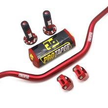 """Защитная Подушка на руль ручки руля Pro taper CNC зажим Жир Бар 1-1/"""" Пита велосипед мотоцикл для мотокросса 28 мм для KTM SX SXF EXC xcw EXCF"""