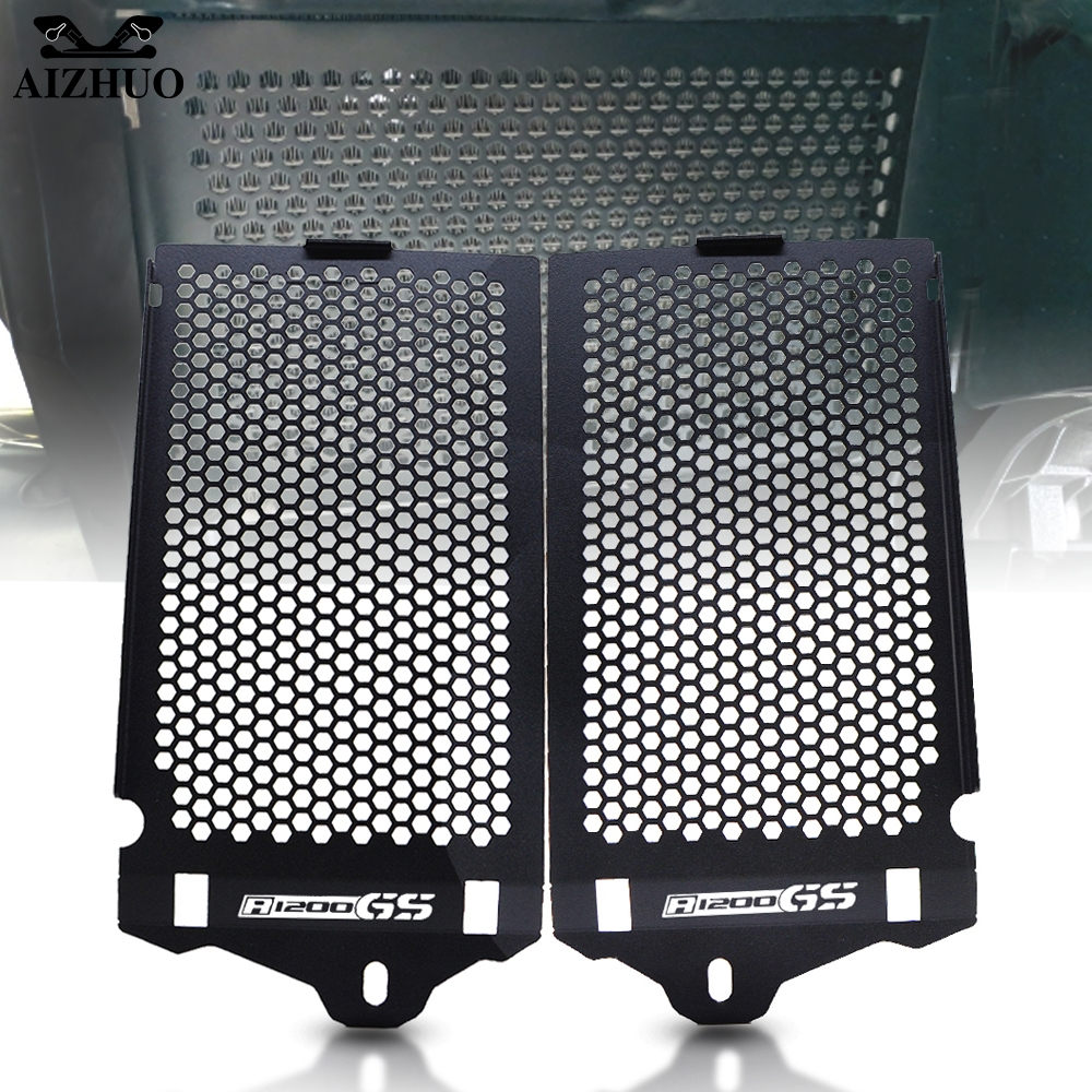 Motorcycle Radiator Grille Guard Cover Protective Cover For <font><b>BMW</b></font> R <font><b>1200</b></font> <font><b>GS</b></font> R 1200GS R1200GS <font><b>Adventure</b></font> ADV 2013-2016 2014 <font><b>2015</b></font> image