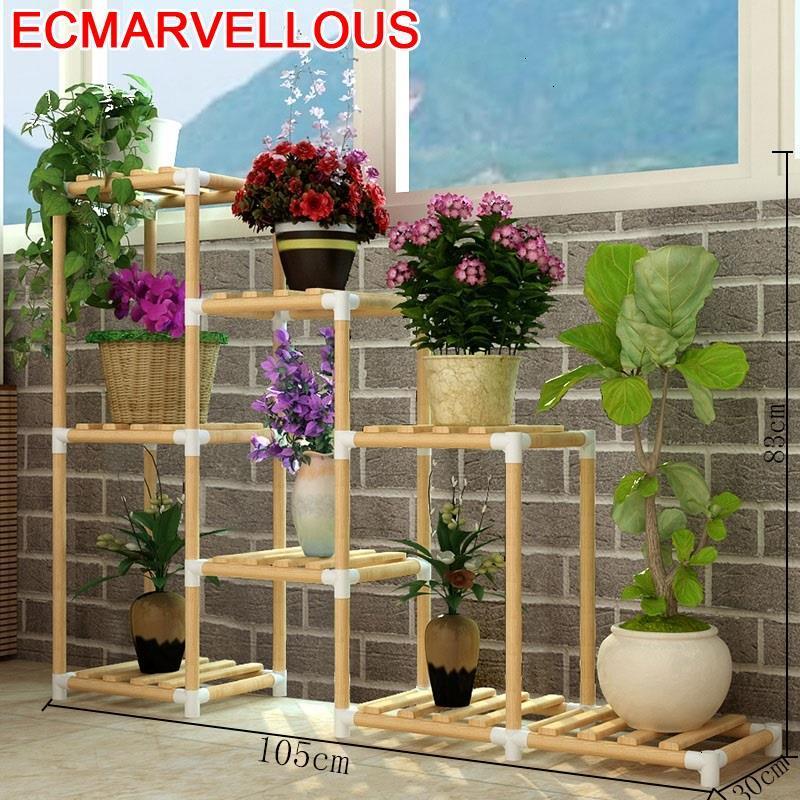 Shelves For Para Jardin Scaffale Porta Piante Estanteria Plantas Outdoor Stojak Na Kwiaty Balcony Flower Shelf Plant Stand