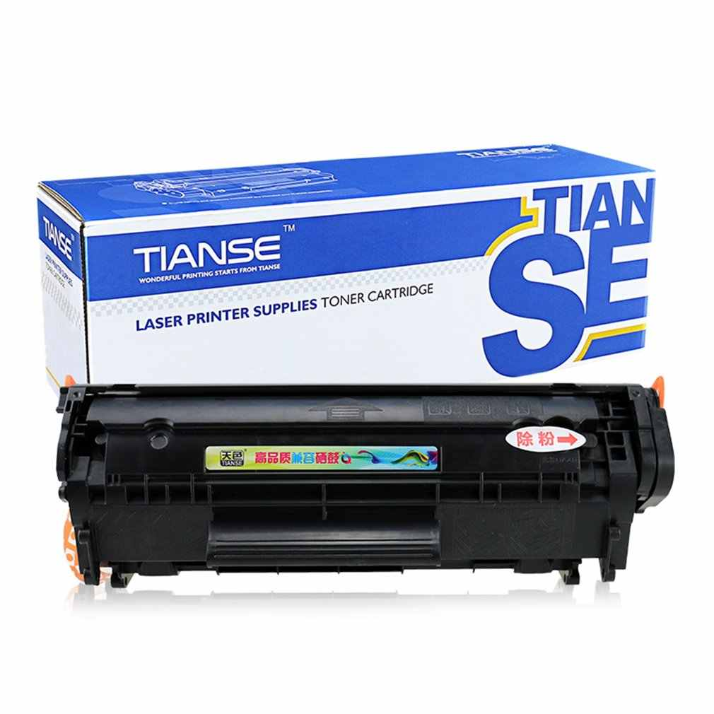TIANSE CRG303 טונר מחסנית תואם הזרקת דיו מחסנית החלפה עבור Canon LBP-2900/LBP-3000 קל להוסיף אבקת (שאינו OEM)