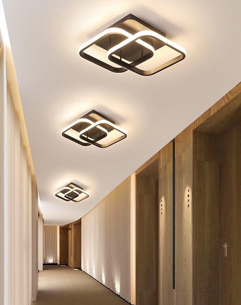 Nórdico moderno conduziu a luz de teto