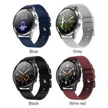 F35 1.28 inç dokunmatik akıllı saat bilezik 5.0 IP67 su geçirmez kalp hızı hatırlatma spor takip bilekliği sıcak satış