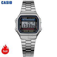Casio watch silver watch men set brand luxury LED digital Wa