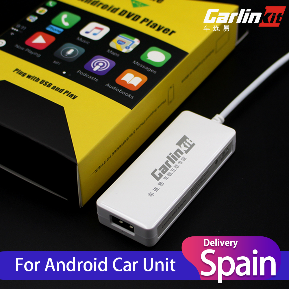 Carlinkit USB CarPlay Dongle Android Auto for modify Android Car Multimedia Player Accessories  amp  Parts Car Services Auto Sale
