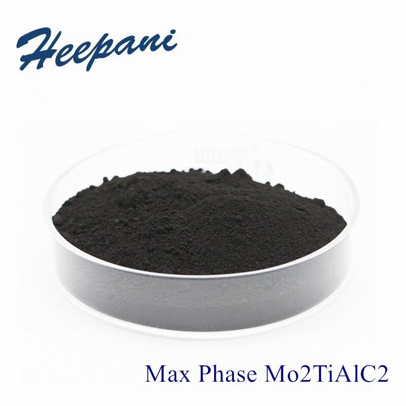 MAX Phase Mo2TiAlC2 200mesh-500mesh With High Purity Mxene Advanced Ceramic Material Molybdenum Titanium Aluminum Carbide Powder
