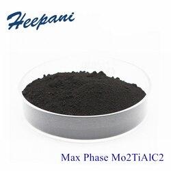 Max Fase Mo2TiAlC2 200mesh-500mesh Met Hoge Zuiverheid Mxene Geavanceerde Keramische Materiaal Molybdeen Titanium Aluminium Carbide Poeder