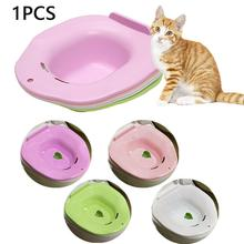 Pets-Tray Training-Kit Plastic Cat 1PC Potty Urinal-Supplies Color-S-R8g8