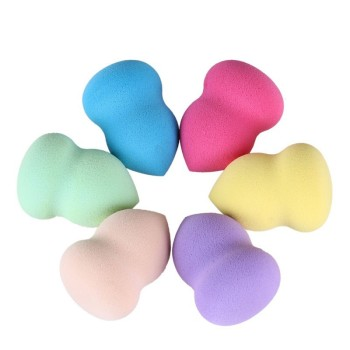 Gourd Powder Puff Water Drop Powder Puff Wet And Dry Dual Purpose Face Wash Cosmetic Egg Makeup Hydrophilic Non-Latex Sponge Puf 3