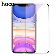HOCO Voll Gehärtetem Glas für iPhone 11 Pro Max auf iPhone X XS Max Screen Protector 3D Schutz Glas für iPhone XR 11Pro 2019